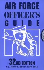 15188 - Bonn, K. - Air Force Officer's guide (32nd edition) ULTIME COPIE !!!