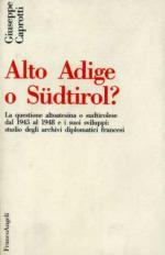 15296 - Caprotti, G. - Alto Adige o Sudtirol?