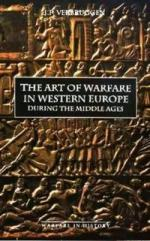 15545 - Verbruggen, J.F. - Art of Warfare in Western Europe during the Middle Ages (The)
