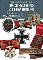 15592 - Hormann-Behr, J.M.-V. - Decorations Allemandes Militaires (1933-1945) et Civiles (1919-1945)