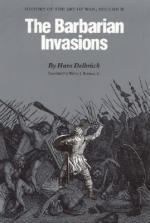 15696 - Delbruck, H. - Barbarian Invasion. History of the Art of War Vol II (The)