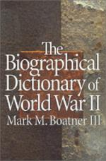 15828 - Boatner, M. - Biographical dictionary of WWII