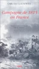 16073 - von Clausewitz, C. - Campagne de 1815 en France