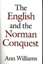 16846 - Williams, A. - English and the Norman Conquest (The)