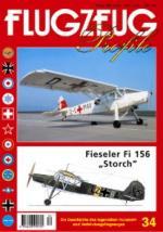 17075 - AAVV,  - Flugzeug Profile 34: Fieseler Fi 156 Storch