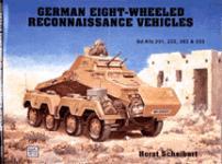 17377 - Scheibert, H. - German 8 wheeled recon vehicles