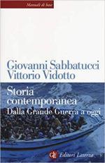 17789 - Sabbatucci-Vidotto, G.-V. - Storia contemporanea. Dalla Grande Guerra ad oggi