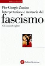18109 - Zunino, P.G. - Interpretazione e memoria del Fascismo