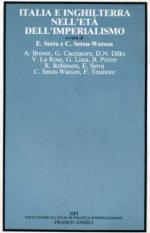 18179 - Serra-Seton Watson,  - Italia e Inghilterra nell'eta' dell'imperialismo