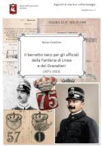 18229 - Catellani, R. - Berretto nero per gli ufficiali della Fanteria di Linea e dei Granatieri 1871-1923 (Il)