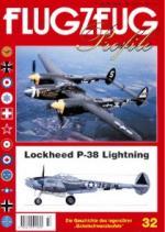 18535 - AAVV,  - Flugzeug Profile 32: Lockheed P-38 Lightning