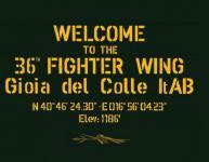 18854 - Ciarini-Mattioli, G.-G. - Welcome to the 36th Fighter Wing. Gioia del Colle It AB