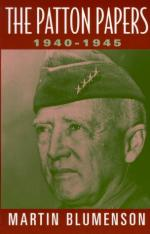 19593 - Blumenson, M. - Patton papers 1940-1945 (The)
