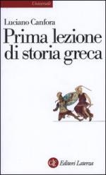 19779 - Canfora, L. - Prima lezione di storia greca