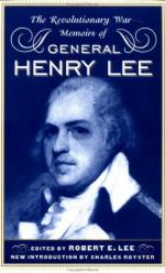 19981 - Lee, R.E. - Revolutionary War Memoirs of General Henry Lee