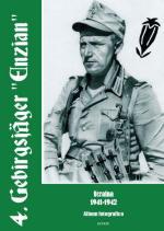 20150 - AAVV,  - 4. Gebirgsjaeger 'Enzian'. Ucraina 1941-42 album fotografico. Libro+DVD