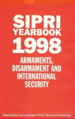 20310 - SIPRI,  - SIPRI Yearbook 1998. Armaments, Disarmament and international security.