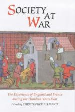 20336 - Allmand, C. - Society at War. The Experience of England and France during the Hundred Years War