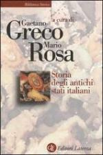 20521 - Greco-Rosa, G.-M. cur - Storia degli antichi stati italiani