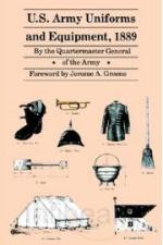 20987 - US Army Quartermaster general,  - US Army uniforms and equipment 1889 ULTIME COPIE !!!