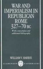 21372 - Harris, W. - War and Imperialism in Republican Rome 327-70BC