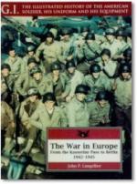 21389 - Langellier, J. - War in Europe: from Kasserine Pass to Berlin - GI 1