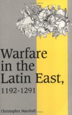 21418 - Marshall, C. - Warfare in the Latin East