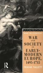 22037 - Tallet, F. - War and Society in Early Modern Europe 1495-1715