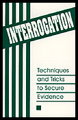 22921 - AAVV,  - Interrogation. Techniques and tricks to secure evidence