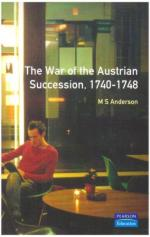 23166 - Anderson, M.S. - War of Austrian Succession 1740-1748 (The)