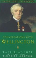 23338 - Stanhope, E. - Conversations with Wellington
