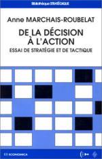 23591 - Marchais Roubelat, A. - De la decision a l'action
