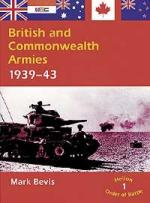 24137 - Bevis, M. - British and Commonwealth Armies 1939-1943