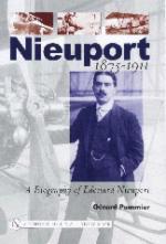 24865 - Pommier, G. - Nieuport. A biography of Eduard Nieuport 1875-1911