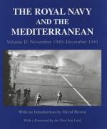 25168 - Brown, D. cur - Royal Navy and the Mediterranean Vol II: November 1940-December 1941