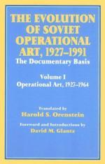 25556 - Orenstein, H. cur - Evolution of Soviet Operational Art 1927- 1991. Volume I 1927-1964 (The)