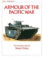 25745 - Zaloga, S.J. - VAN 35: Armour of the Pacific War