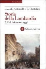 25976 - Antonielli-Chittolini, L.-G. - Storia della Lombardia Vol 2 Dal Seicento ad oggi