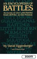 26160 - Eggenberger, D. - Encyclopedia of Battles. Accounts of Over 1,560 Battles from 1479 b.C. to the Present