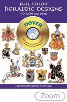 26168 - AAVV,  - Full-Color Heraldic Designs - Libro+CDROM