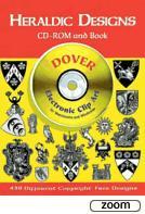 26171 - AAVV,  - Heraldic Designs - Libro+CDROM