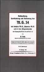 26280 - Butz, A. - Beschreibung, Handhabung und Bedienung des MG 34 als leichtes MG, schweres MG und in der Fliegerabwehr