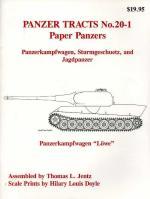 26643 - Jentz-Doyle, T.L.-H.L. - Panzer Tracts 20-1 Paper Panzers