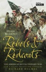 26721 - Bicheno, H. - Rebels and redcoats. The American Revolutionary War