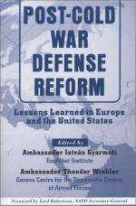 27047 - Gyarmati-Winkler, I.-T. cur - Post Cold War Defense Reform. Lessons Learned in Europe and in the United States
