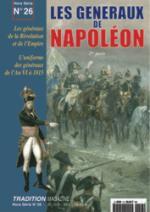 27075 - Tradition, HS - Tradition HS 26: Les Generaux de Napoleon 2eme Partie