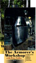 27400 - Fuller, P. - VHS Armorer's Workshop Vol 1. A Step-by-Step Guide to making a Medieval great Helm (The) - 2 VHS