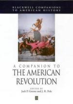 27519 - Greene-Pole, J.P.-J.R. - Companion to the American Revolution (A)
