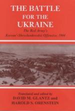 27574 - Glantz-Orenstein, D.M.-H.S. - Battle for the Ukraine. The Red Army's Korsun'-Shevchenkovskii Offensive, 1944 (The)