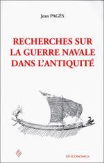 27581 - Pages, J. - Recherches sur la guerre navale dans l'antiquite'
